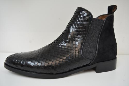 Pertini zwart crocco