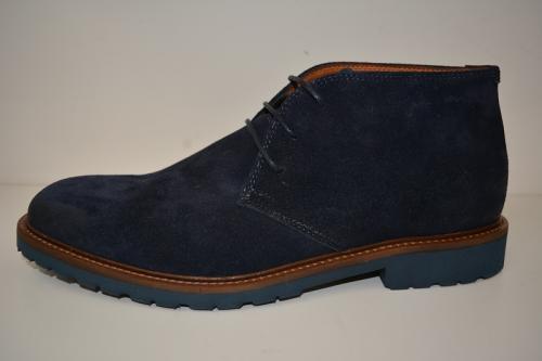 van LIER boot suede blauw